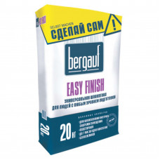Шпатлевка Bergauf Easy Finish цементная, 20 кг м